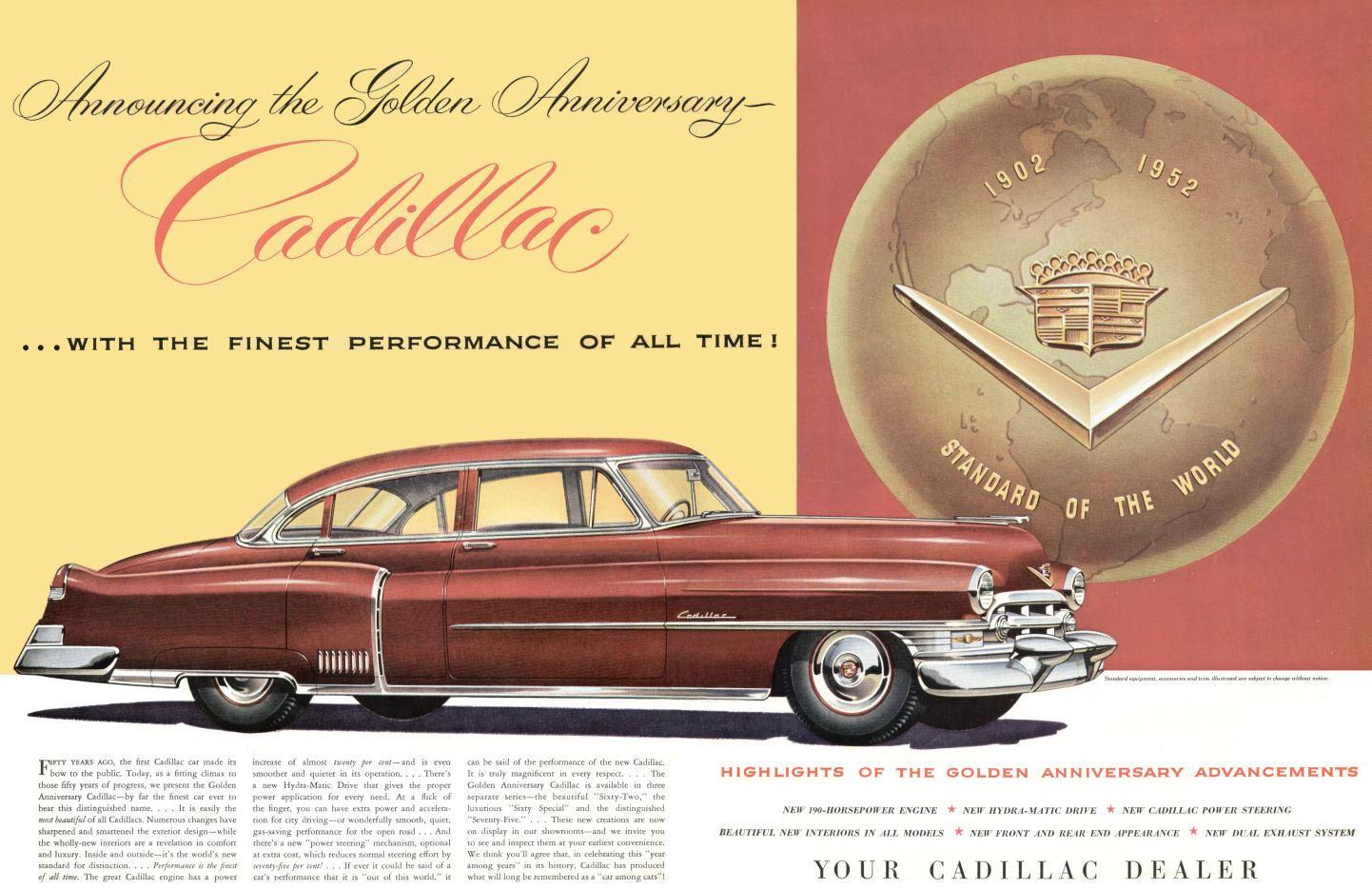 Directory Index: Cadillac & LaSalle/1952
