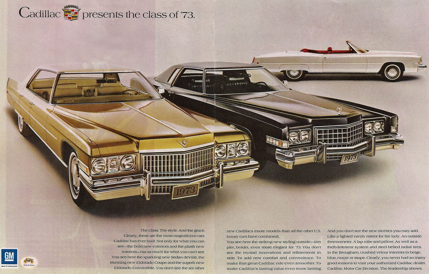 Directory Index Cadillac LaSalle1973 – Old Car Brochure