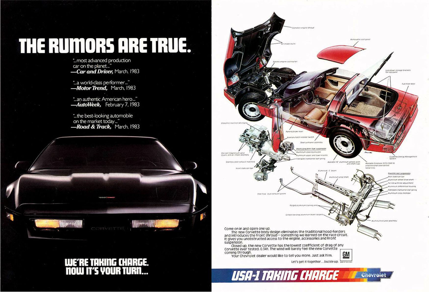 directory index chevrolet corvette 1984 rh oldcaradvertising com 06 Corvette 02 Chevy Corvette