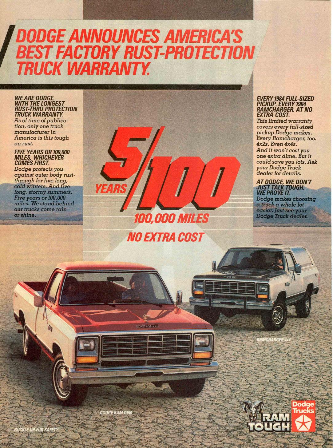 1984 dodge truck ad 01