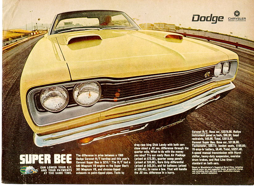 1969 dodge ad 08 for Garage ad agde