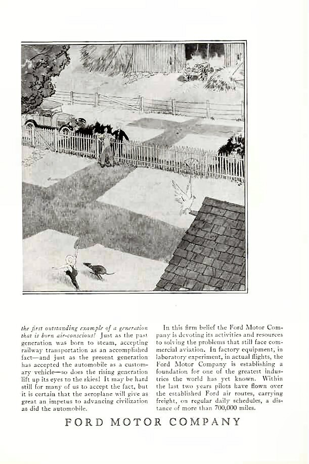 1927 fmc ad 01 for Ford motor company corporate