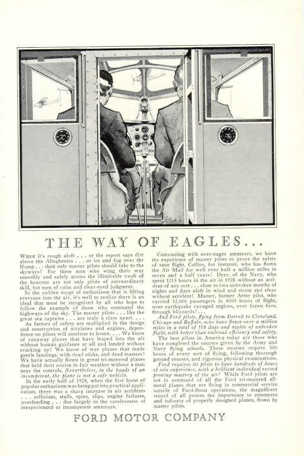 1929 fmc ad 02 for Ford motor company corporate