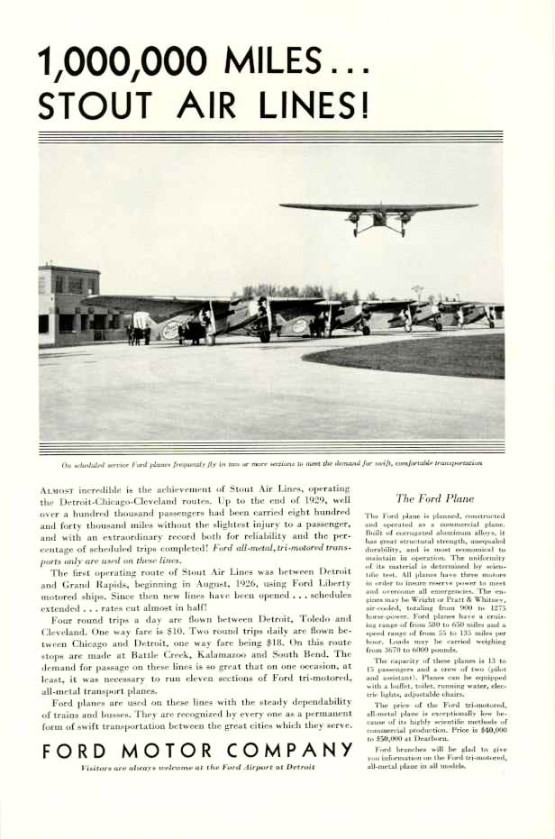 1930 fmc ad 01 for Ford motor company corporate