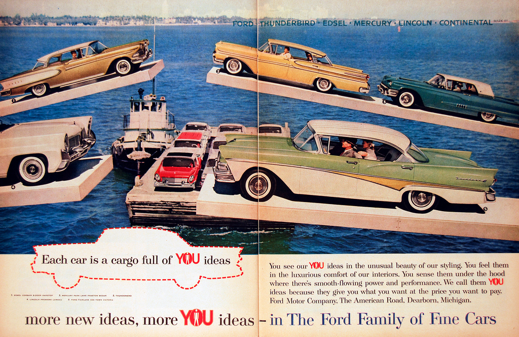 Directory Index: Ford Motor Company Corporate Ads/1958