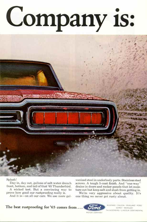 1965 fmc ad 01 for Ford motor company corporate