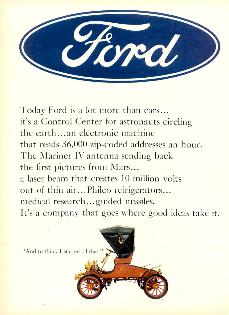 1966 fmc ad 02 for Ford motor company corporate