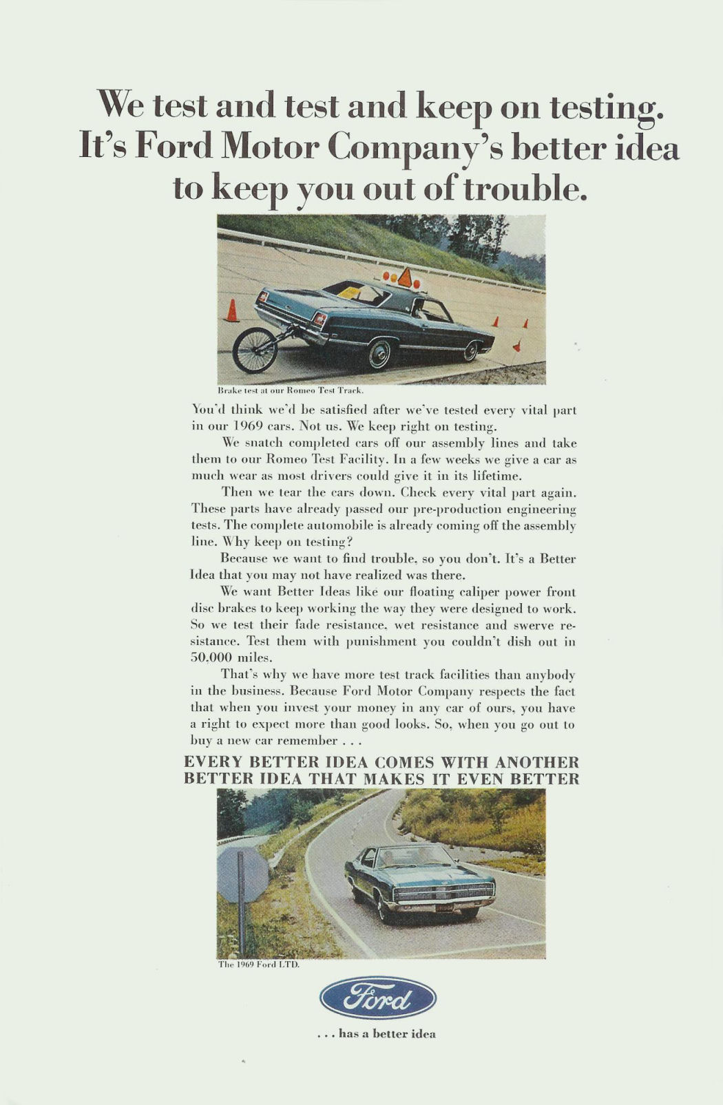 1969 fmc ad 01 for Ford motor company corporate