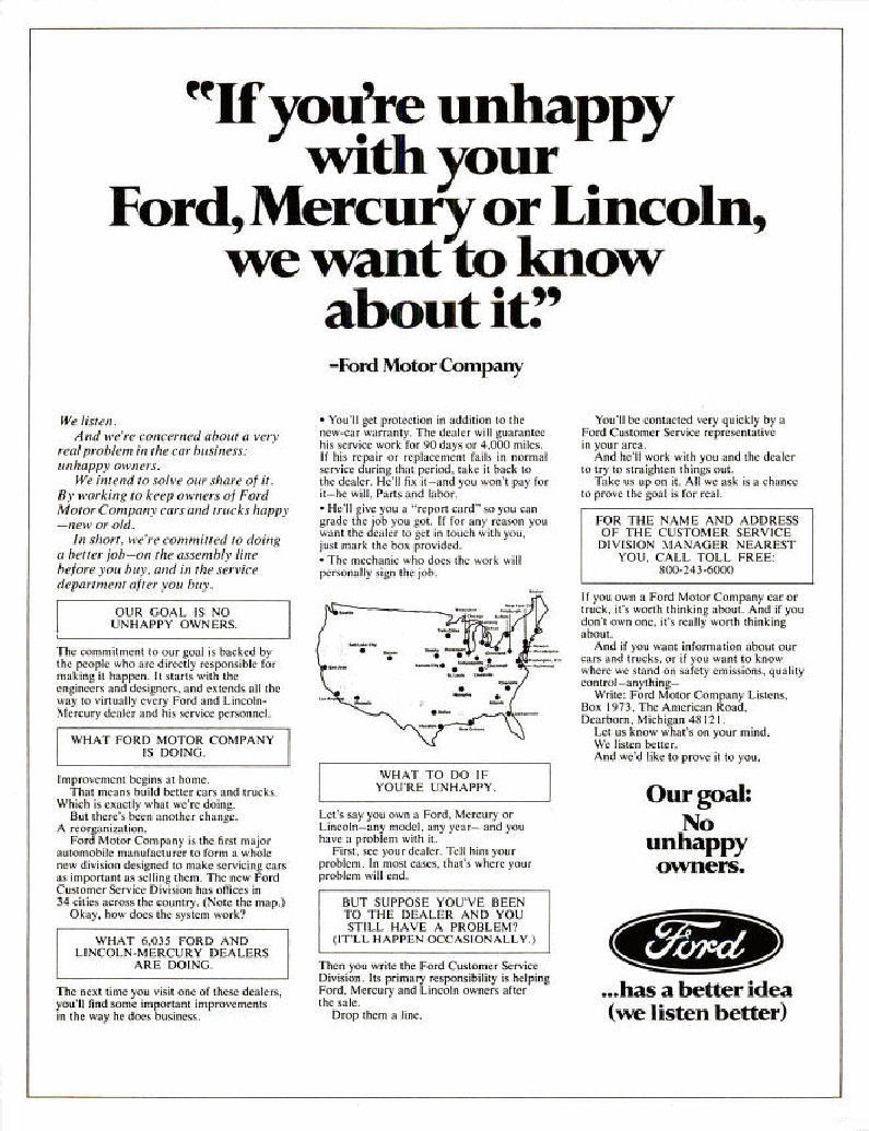 1972 fmc ad 01 for Ford motor company corporate