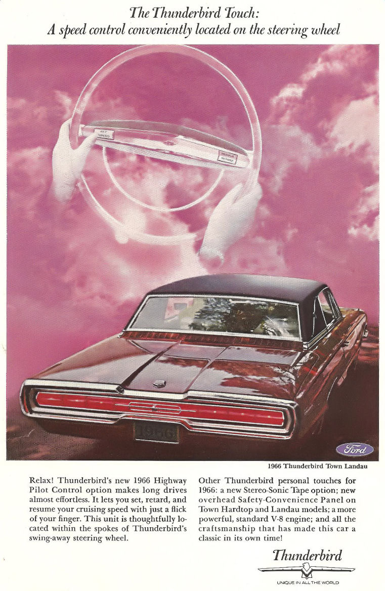 1966 ford thunderbird ad 04