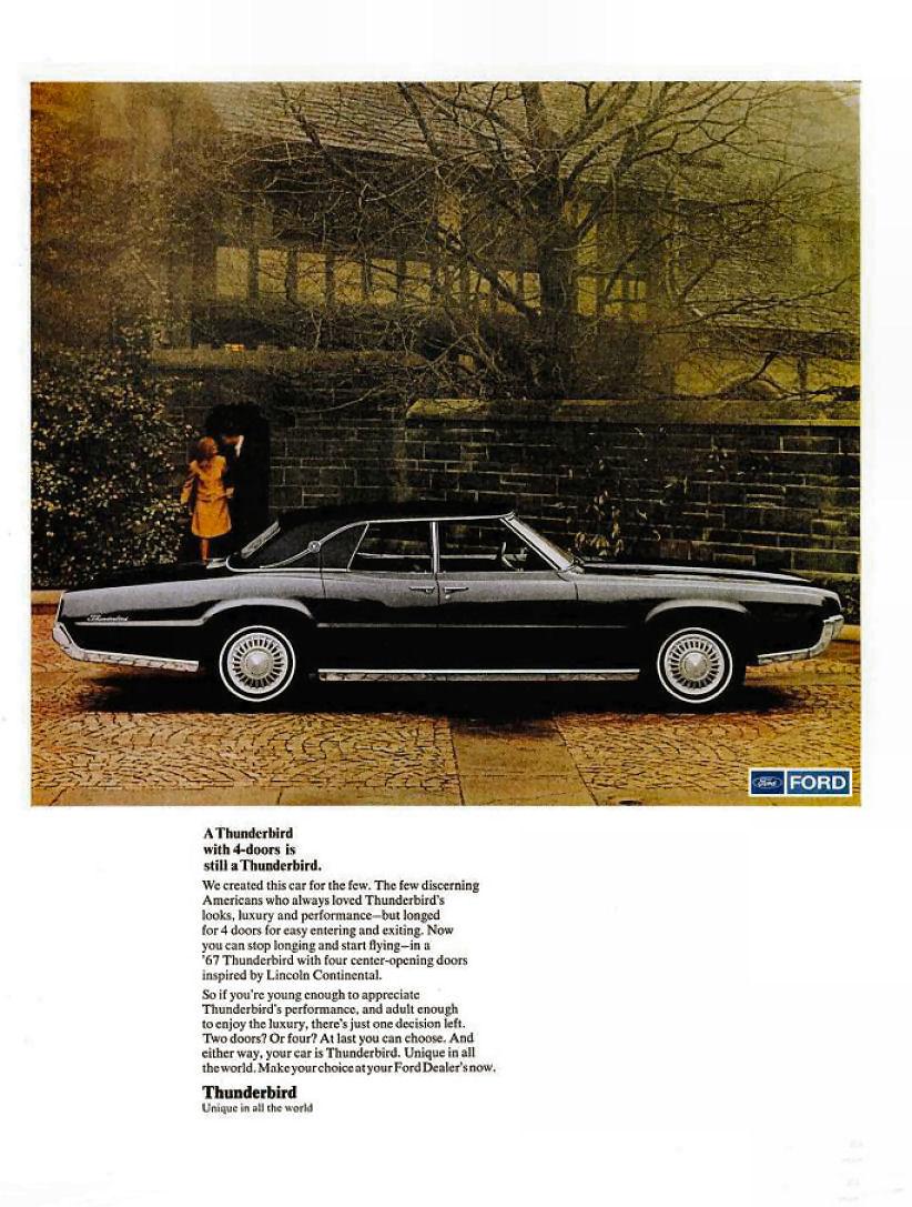 1967 Ford Thunderbird Ad 05