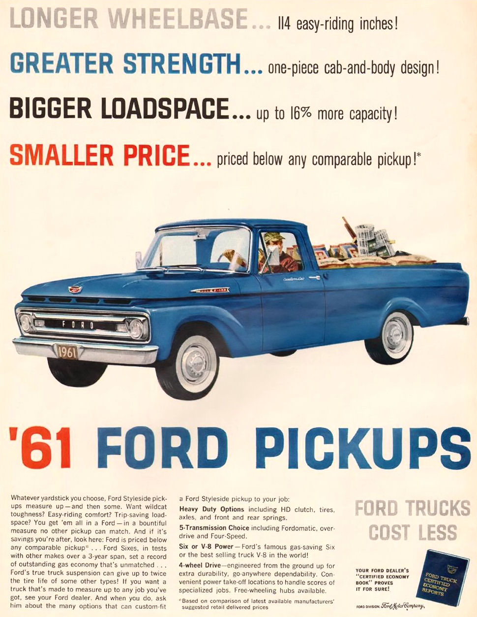 1961 Ford Pickup Ad