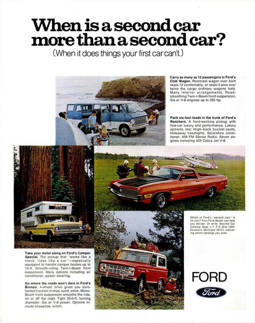 Directory Index Ford Trucks 1970 Ranger Camper Special Truck Ad 02