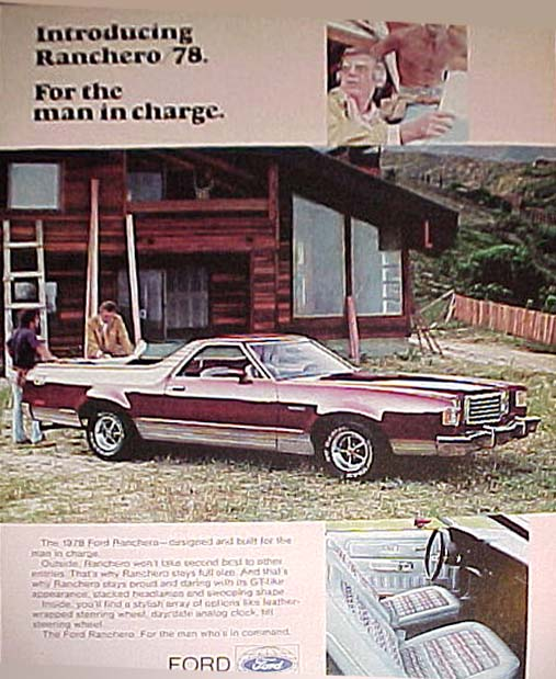 1978 ford ranchero ad 02 - 1978 Ford Ranchero