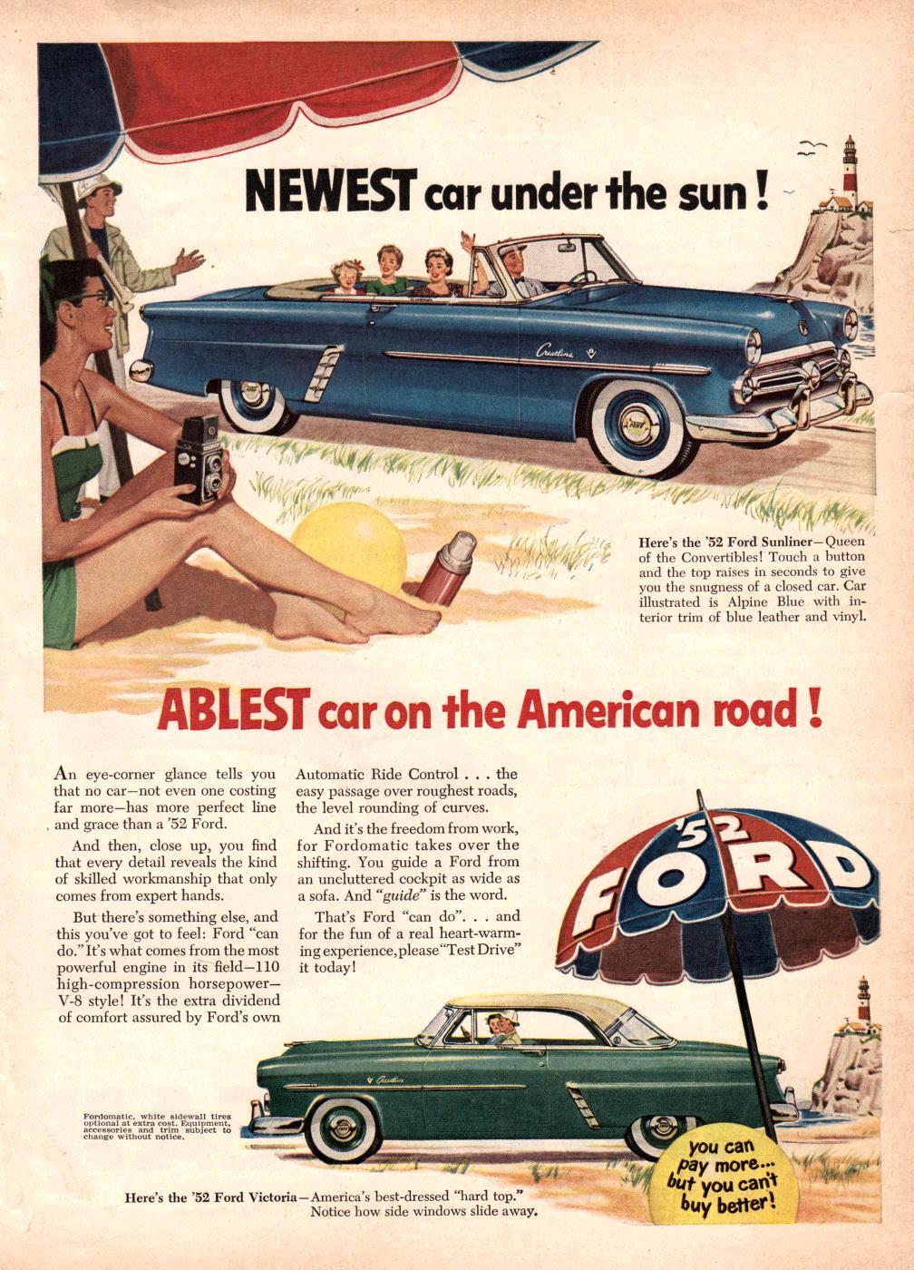 Vintage Car Repair Ads
