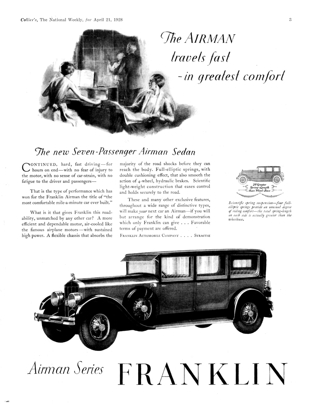 Directory Index: Franklin Ads/1920s