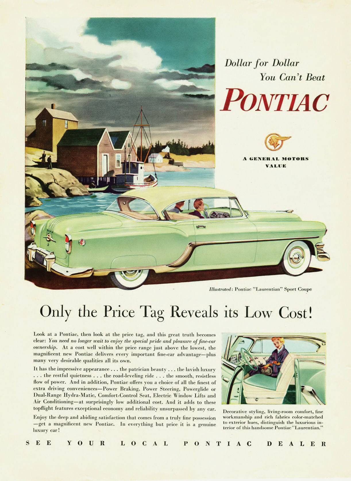 Directory Index: GM Canada Ads/1950s