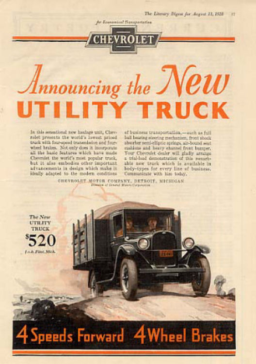 1928 Chevrolet Truck Ad 04
