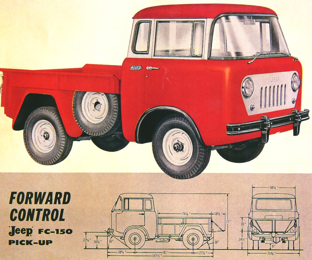 Plow Horse: 1957 Jeep FC-150