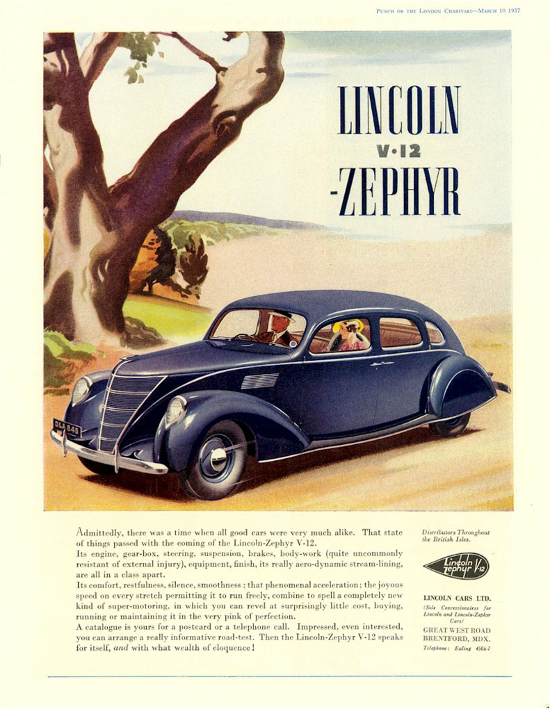1937 lincoln zephyr ad 08. Black Bedroom Furniture Sets. Home Design Ideas