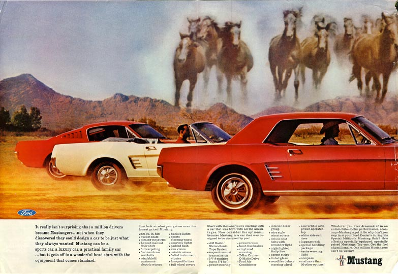1966 Ford Mustang Ad 02