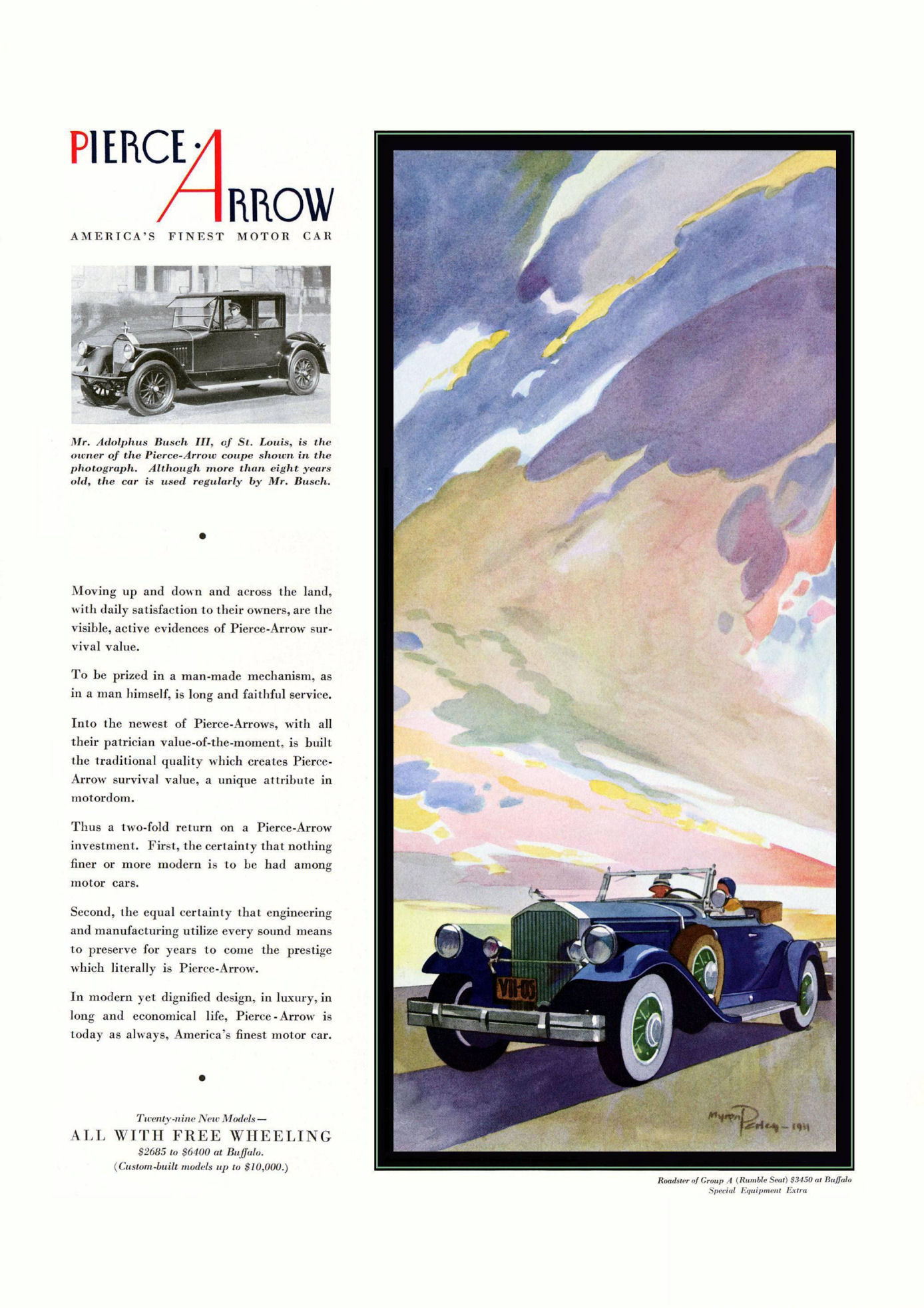 Directory Index: Pierce-Arrow Ads/1930s