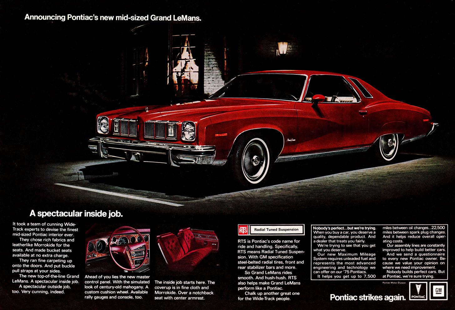 Directory Index: Pontiac & Oakland/1975
